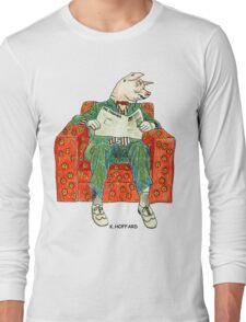 Pig Inquirer Long Sleeve T-Shirt