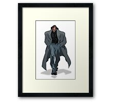 Val-Mar Walking Framed Print