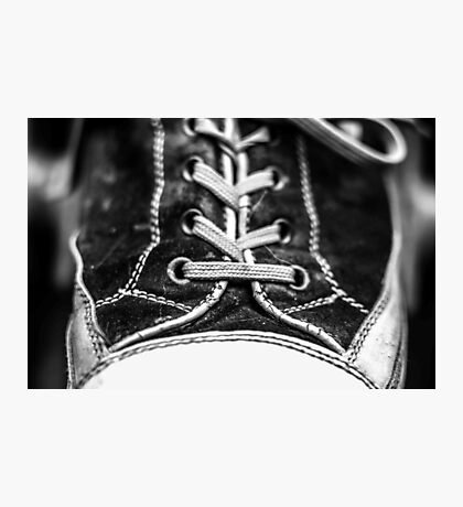 Leather and Laces Photographic Print