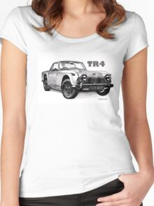 Triumph TR4 Women's Fitted Scoop T-Shirt
