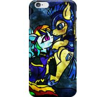 Rainbow Dash and Flash Sentry iPhone Case/Skin