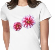 Dahlias Mommy and Child Hand In Hand Womens Fitted T-Shirt