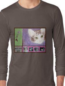 Save Me kitty Long Sleeve T-Shirt