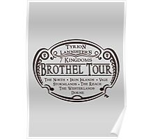 Tyrion Lannister Brothel Tours Poster