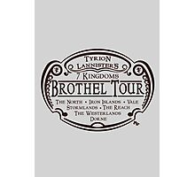 Tyrion Lannister Brothel Tours Photographic Print
