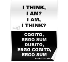 I THINK I AM I AM I THINK Poster