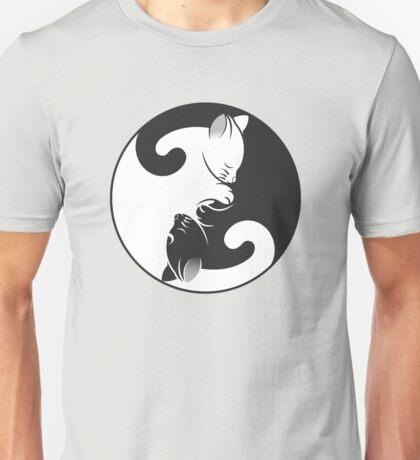 Cat Yin-Yang Unisex T-Shirt