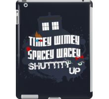 Doctor Who Catchphrases 2 iPad Case/Skin