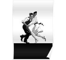 Clay and Lisette Dancing Poster