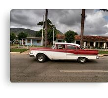 '58 Ford - Vinales Canvas Print
