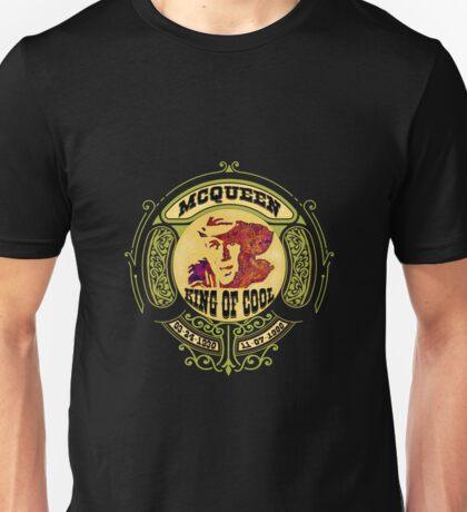 Steve McQueen King of Cool Unisex T-Shirt