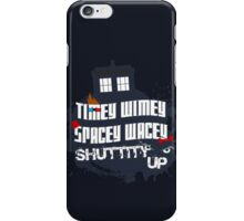 Doctor Who Catchphrases 2 iPhone Case/Skin