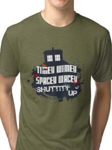Doctor Who Catchphrases 2 Tri-blend T-Shirt