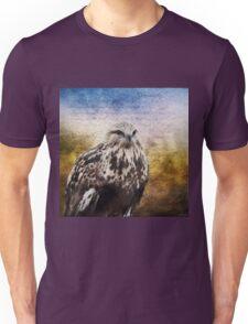 Found Somewhere Between - Inspirational Art Unisex T-Shirt