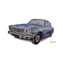 Rover P6 2000 Photographic Print