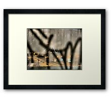 Astoria Graffiti Framed Print