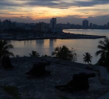 The Sun Also Sets Over Havana by ponycargirl