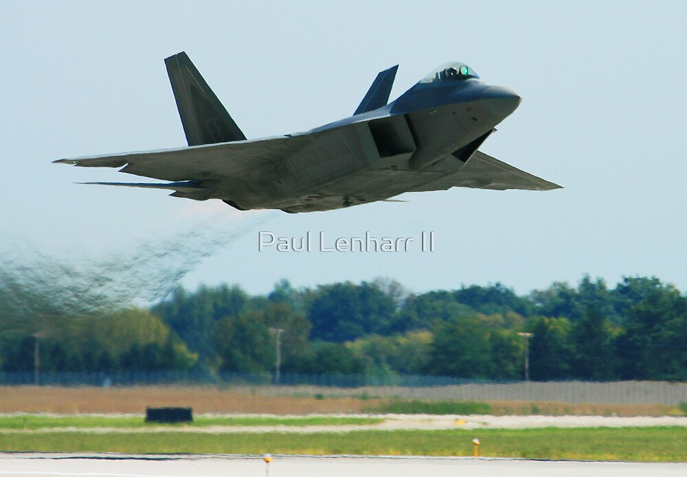 F-22 Raptor High Speed Low Altitude pass by Paul Lenharr II