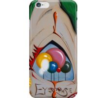 """EYE"" CLOWN iPhone Case/Skin"