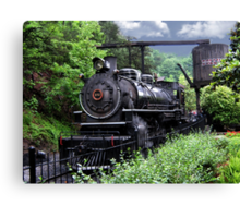 Dollywood Express Baldwin Steamer Train ..PILLOWS AND OR TOTE BAGS..PICTURES,,ECT Canvas Print