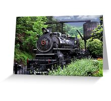 Dollywood Express Baldwin Steamer Train ..PILLOWS AND OR TOTE BAGS..PICTURES,,ECT Greeting Card