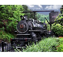 Dollywood Express Baldwin Steamer Train ..PILLOWS AND OR TOTE BAGS..PICTURES,,ECT Photographic Print