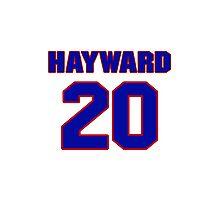Basketball player Gordon Hayward jersey 20 Photographic Print