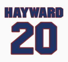 Basketball player Gordon Hayward jersey 20 T-Shirt
