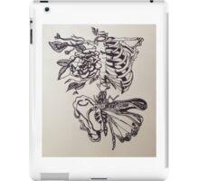 Skeleton Rose iPad Case/Skin