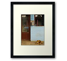 Payphone Framed Print