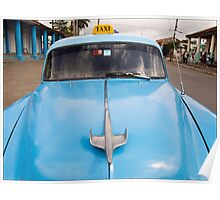 Blue Taxi - Vinales Poster