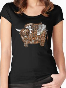 Hayleys Heeland Coo Women's Fitted Scoop T-Shirt