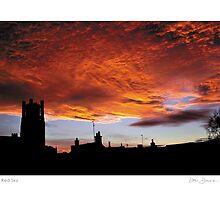 Ely Red Sky by Dan Donovan