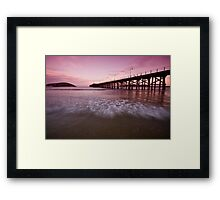 Coffs Harbour Jetty 7 Framed Print