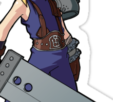 Final Fantasy VII - Cloud Strife Sticker