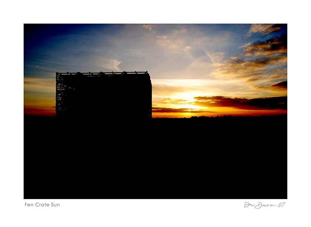 Fen Crate Sun by Dan Donovan
