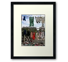 Havana Laundry Framed Print