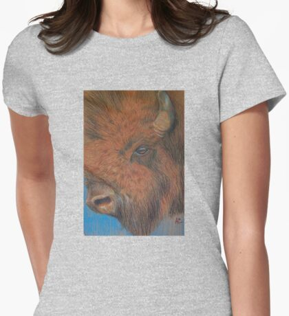 American Buffalo Womens Fitted T-Shirt