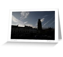 Boston England Greeting Card
