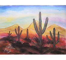 Arizona Evening Photographic Print