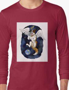 Peace on Earth angel Long Sleeve T-Shirt