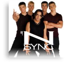 *NSYNC ('90s Version) Canvas Print