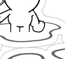 Pinheads Big Cat Diary Sticker