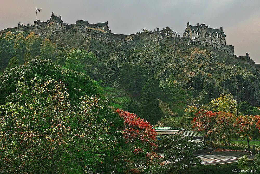 Autumn Castle by Chris Clark