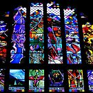 England :  Stained Glass Window,  by AnnDixon