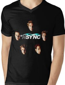 *NSYNC Mens V-Neck T-Shirt