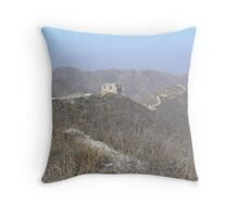 The Great Wall of China! Throw Pillow