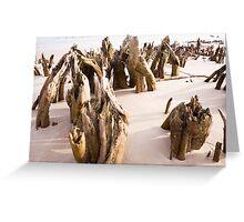 Beach Skeletons Greeting Card