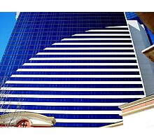 Blue Glass Tower ^ Photographic Print