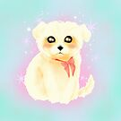 Magical Maltese Puppy by CatAstrophe